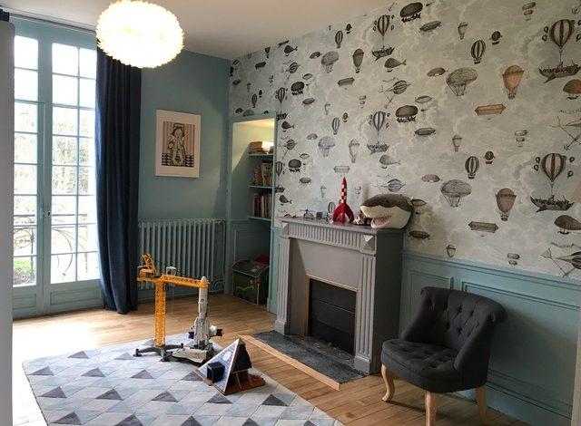 Décoration d'une chambre d'enfant par Stéphanie Ménez